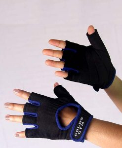 Gloves Ladies BLue1
