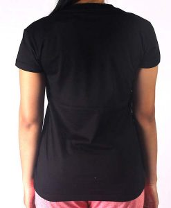 T shirt Ladies Park Black back