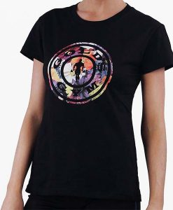 T shirt Ladies Park Black front_
