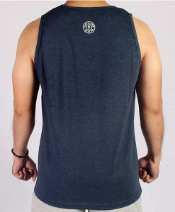 TANKTOP classic Joe Man blue back