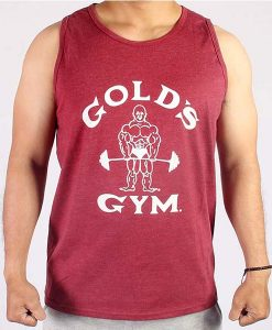 TANKTOP classic Joe Man red front